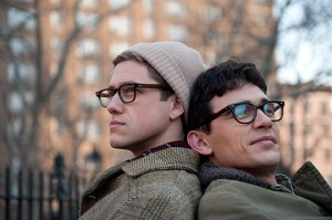 Still photo from Howl of Aaron Tveit and James Franco, Werc Werk Works, Elizabeth Redleaf
