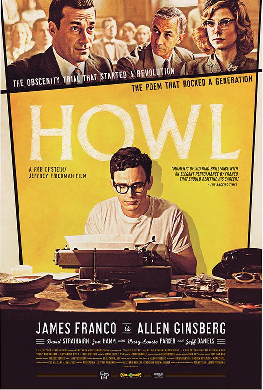 Howl, poster, Werc Werk Works, Elizabeth Redleaf
