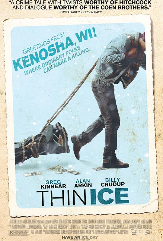 Thin Ice, poster, Werc Werk Works, Elizabeth Redeaf